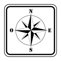 Logo rose des vents.