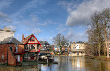 Oxford City and River
