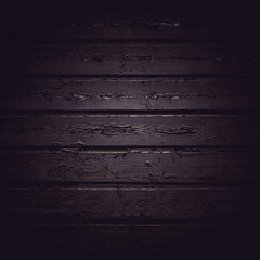Dark wooden board pattern