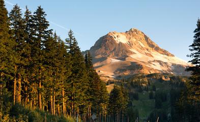 Ski Chair Lift Wild Outdoors Timberline Mt Hood Cascade Mountain