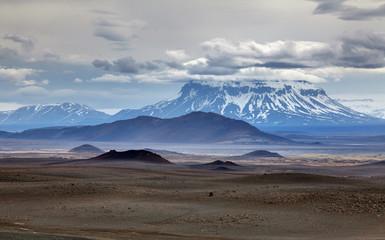 Volcano herdubreid in Iceland