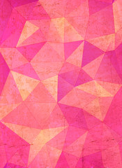 Beauty & fashion concept abstract geometric background