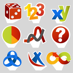Math related symbols