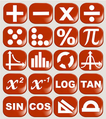 Math related symbols