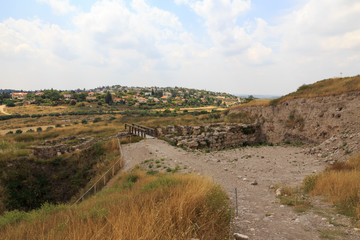 tel gezer . the times of the kings . israel