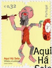 "PORTUGAL - 2010: shows ""Viriato o Lusitano"", a figure of Portugu"