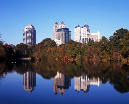 Skyscrapers, Atlanta, USA © Arena Photo UK