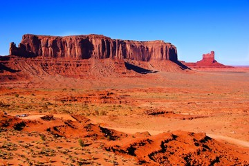 Wall Mural - Iconic desert landscape at Monument Valley, Arizona, USA