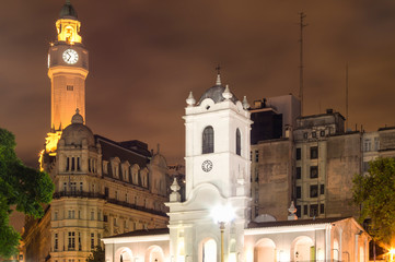 Historical Buildings, Buenos Aires, Argentina