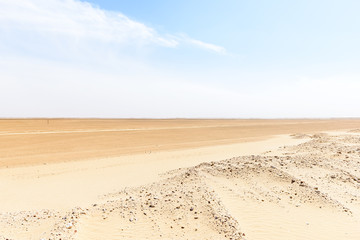 Route 43 to Ubar, Rub al-Khali desert (Oman)