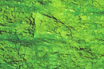 Green Rock Texture Background