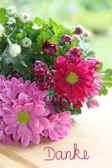 Danke sagen mit Blumen