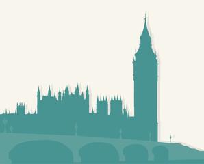 Illustration, image of London.