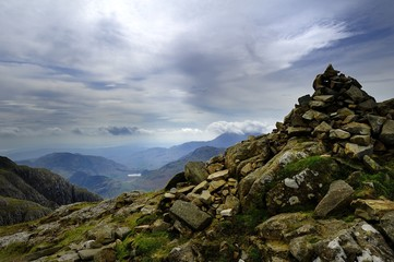 Cairn on Pike of Stickle