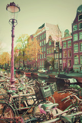 Old Amsterdam Bicycles Light