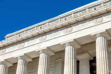Wall Mural - Washington DC - Abraham Lincoln Memorial