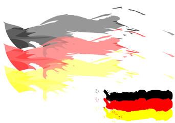 Deutschland Fahne Hintergrund
