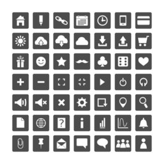 Set of web icons for business, and communication
