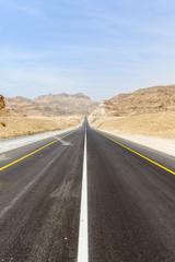 Highway running along the Coast, Dhofar (Oman)