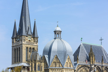 Aachener Dom Close-Up