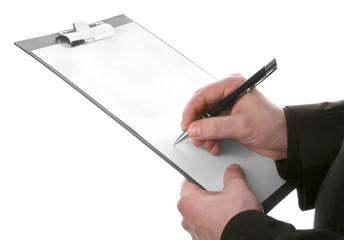 Obraz Blank card for notes - fototapety do salonu