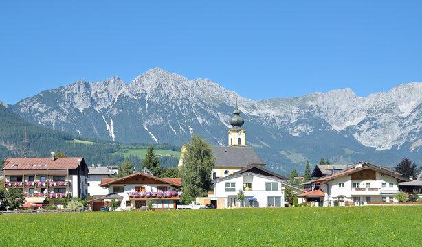 Urlaubsort Söll in Tirol am Kaisergebirge
