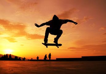 Skateboard Silhouette