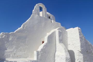Church of Panagia Paraportiani in Mykonos, Greece