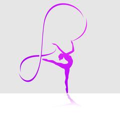 иконка балерина