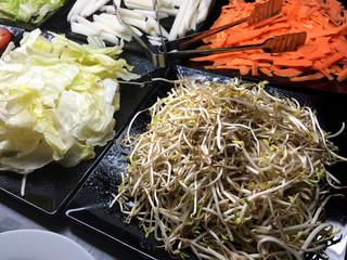 assorted fresh veggi