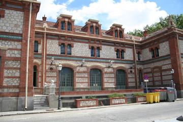 Fachada Casa del Reloj-J.M. Arganzuela