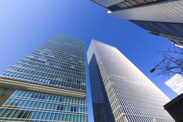 高層ビル街 イメージ