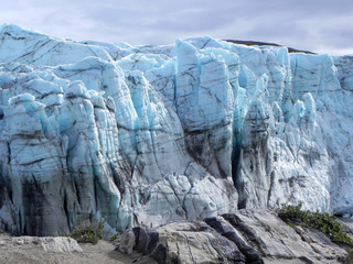 Greenland ice scarp
