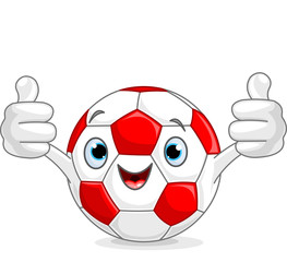 Soccer football character