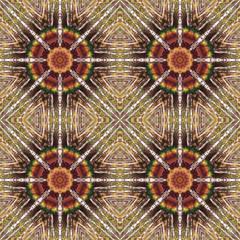 Seamless pattern, pastel paintings