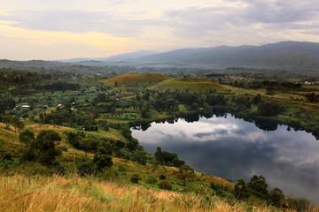 Crater lakes - Uganda