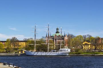 af Chapman (ship) in Stockholm