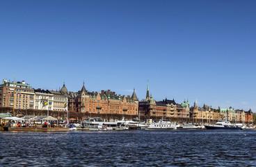 view of Strandvagen, Stockholm