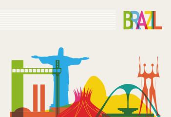 Brazil tourism skyline