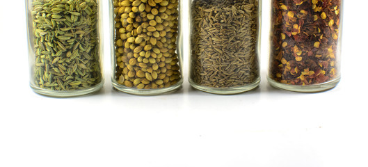 Spices used in Indian foods