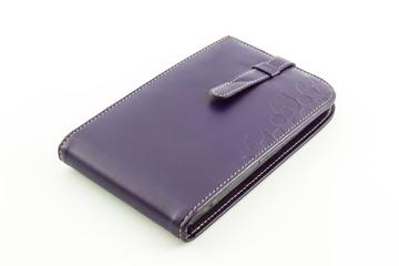 Leather card holder wallet.