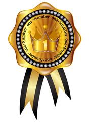 王冠 クラウン メダル