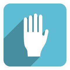 hand flat icon
