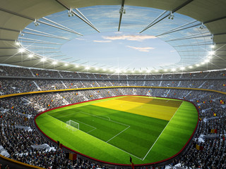 Wall Mural - Stadion Belgien