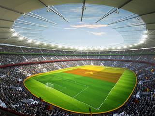 Wall Mural - Stadion Kamerun