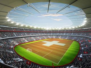 Wall Mural - Stadion Schweiz