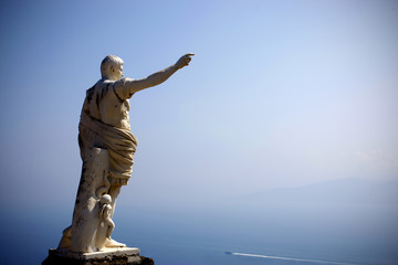 Statue on Capri