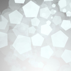 Abstract silver winter background