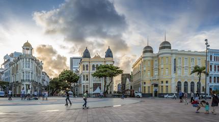 Recife Antigo at Marco Zero Square in Recife, Pernambuco, Brazil