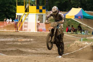 Wyścig motocross